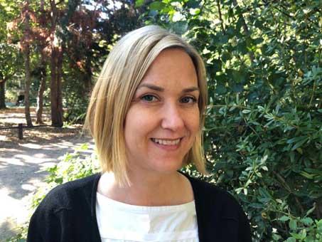 Physiotherapeutin Sara Bamberger